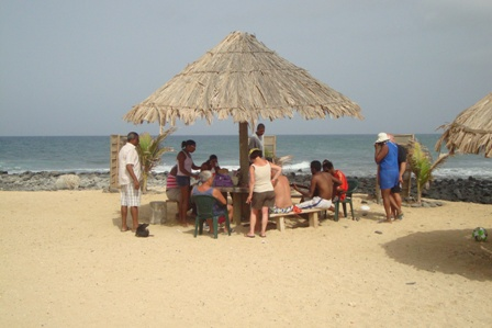 11th July 2010 - Grijinha Beach Bar-open Thur - Sun (east coast)