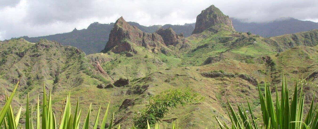 The Hills on Santo Antao Island